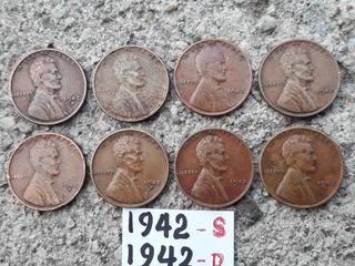 Moneda Antiguas Año De 1942