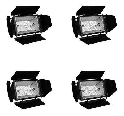 Refletor Colortran 4 Pçs