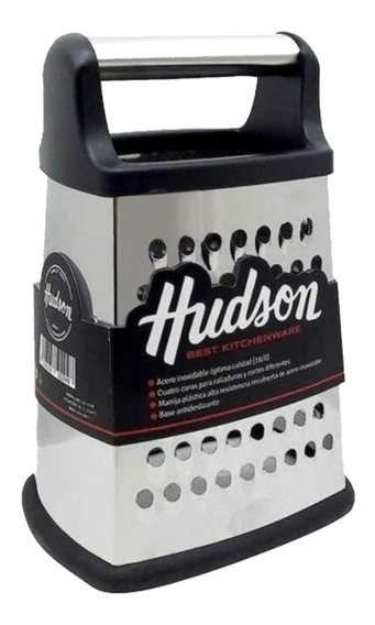 Rallador Acero Inoxidable Hudson 4 Caras