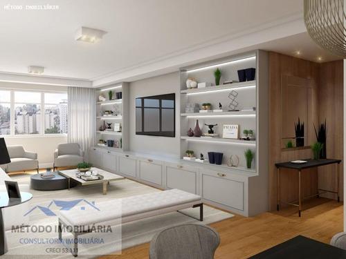 Apartamento Para Venda Em São Paulo, Vila Nova   Conceição, 3 Dormitórios, 1 Suíte, 3 Banheiros, 2 Vagas - 12561_1-1281200