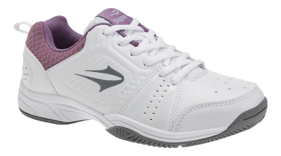 Zapatillas Topper Modelo Tenis Damas Rally - (29809)