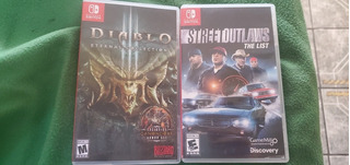 Juegos Nintendo Switch Diablo Y Street Outlaws