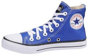 746116a7f01 All Star Cano Longo Feminino - Converse Azul no Mercado Livre Brasil