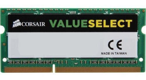 Memória Corsair 8gb 1x8 Ddr3 1600mhz Value Select Low Voltag