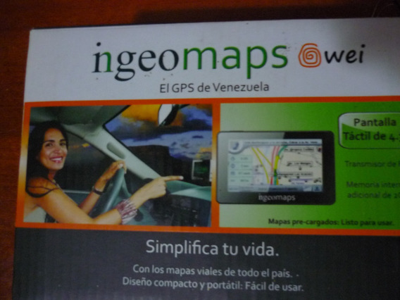 Ingeomaps Gps @wei Tactil 4,3 Pulgadas