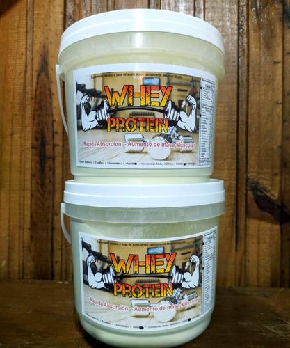 Whey Protein, Pote Conteniendo 1kg Con Sabores(lea)