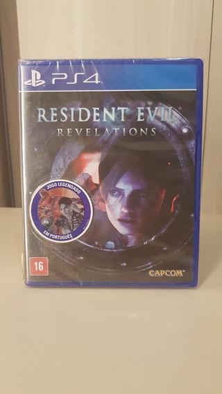 Resident Evil Revelations Ps4 Novo Lacrado