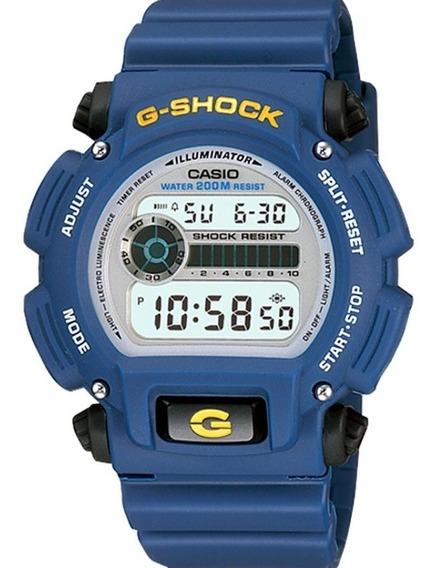 Relógio Casio G-shock Masculino Azul Dw-9052-2vdr