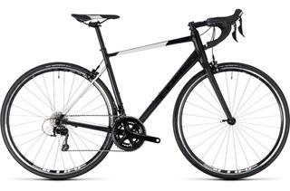Bicicleta Ruta Cube Attain Sl 105 20v Alum + H. Carbono
