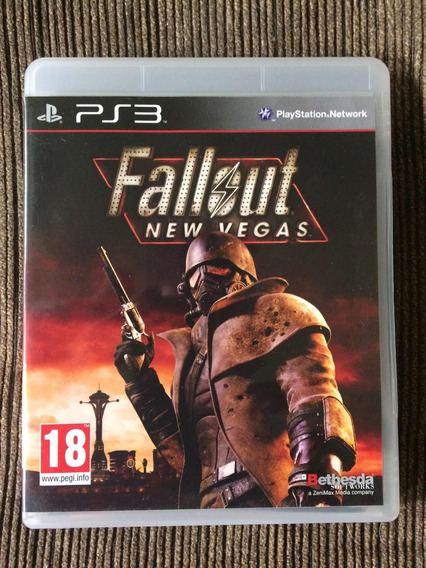 Jogo Ps3 Fallout New Vegas Mídia Física