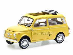 *defeito Fiat 500 Giardiniera 1968 :18 Norev Amarelo