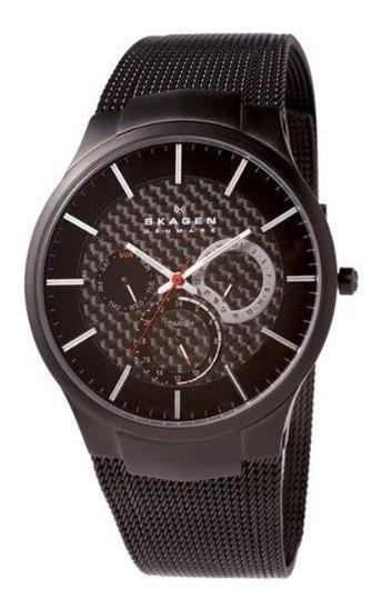 Relojes De Pulsera Para Hombre Relojes Sk809xltbb Skagen