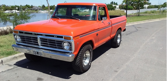 Ford F-100 Año 74 V8 Impecable Titular!!