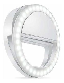 Aro Luz Led Selfie P/ Celular Tablet Linterna Aro 8.5 Cm