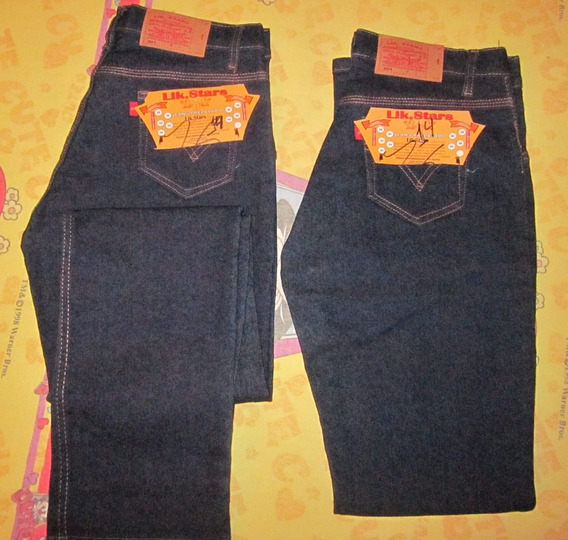 Pantalón Industrial De Dama Triple Costura. Lik. Stars T14