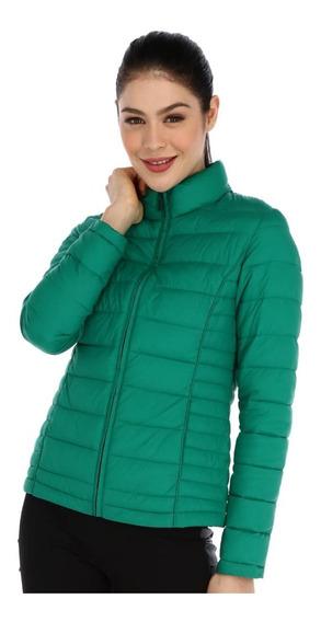 Chamarra Para Mujer Alysh Balance T50829 Color Verde Xg