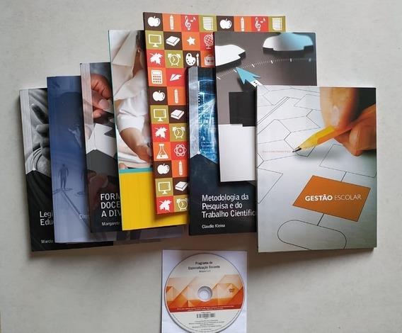 Kit 8 Livros Pedagogia Educacional Professores Pós Graduação