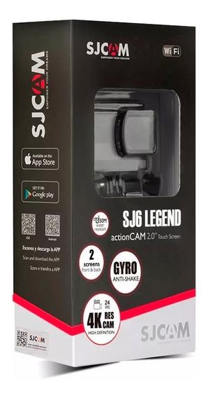 Sjcam Sj6 Legend 4k Rosa Wi-fi Câmera Wifi 100% Original! *