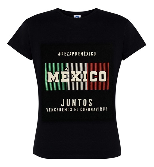 Playera Coronaviru Reza Por México
