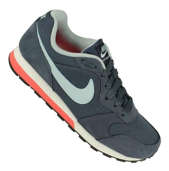 Tênis Nike Md Runner 2 Gs Juvenil Original Nfe Tênis Preto
