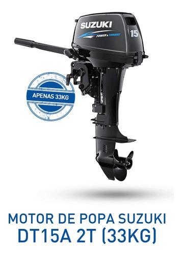 Imagem 1 de 1 de A Motor De Popa Suzuki 15 Hp ( 18 X Sem Entrada )