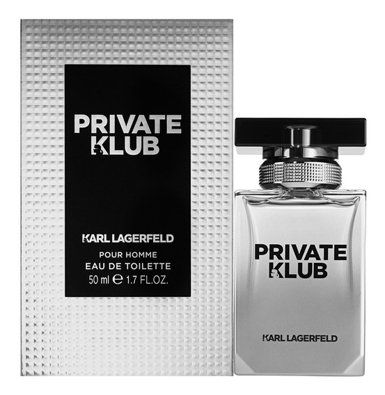 Perfume Private Klub Karl Lagerfeld Homme 50ml - Selo Adipec
