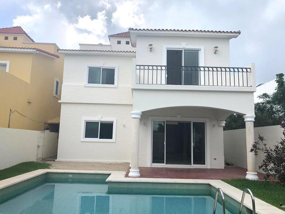 Casa En Venta Y Renta- 3 Rec Playa Magna Playa Del Carmen