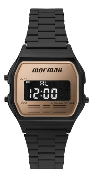 Relógio Mormaii Digital Quadradinho Unissex Mojh02ao/4j Orig