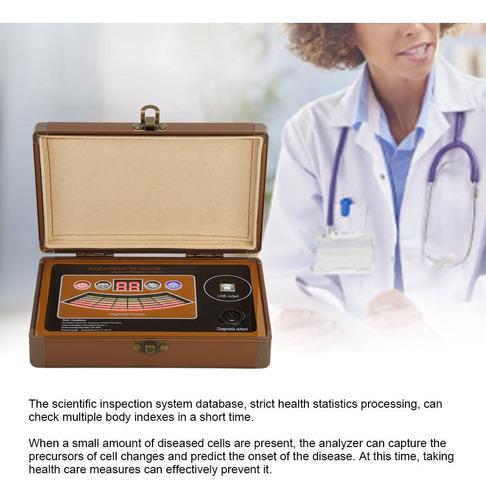 Imagen 1 de 9 de Sub Health Sanitario Quantum Corporal Analizador De Resonanc