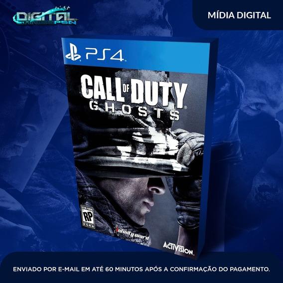 Call Of Duty Ghosts Ps4 Psn Midia Digital Envio Já!