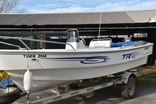 Tracker Marca Trakker 520, Con Yamaha 60hp 2 Tiempos (2011)