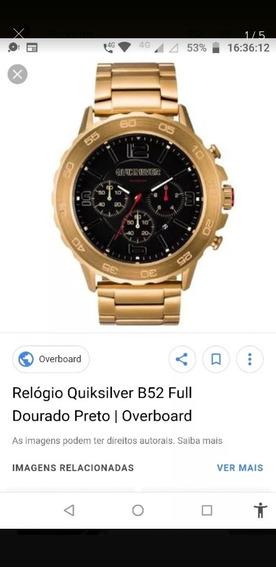 Relógio Da Quiksilver Original Série Ouro!!