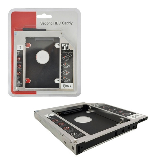Adaptador Caddy Slim 12.7mm Universal Hdd/ssd Sata 2.5