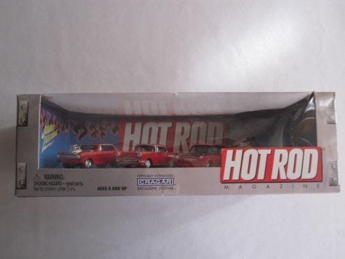 Johnny Lightning Hot Rod Magazine 4-car Set