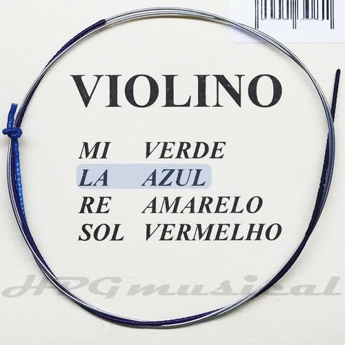 Corda Violino Mauro Calixto Padrão 2ª Lá A