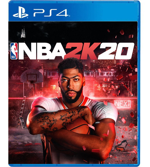 Nba 2k20 Ps4 Mídia Física Pronta Entrega