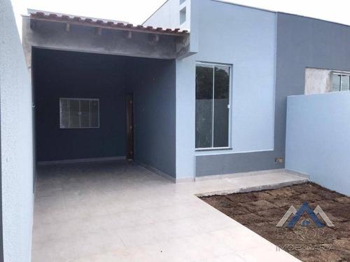 Casa Com 3 Dormitórios À Venda, 75 M² Por R$ 320.000,00 - Dom Pedro Ii - Londrina/pr - Ca1580
