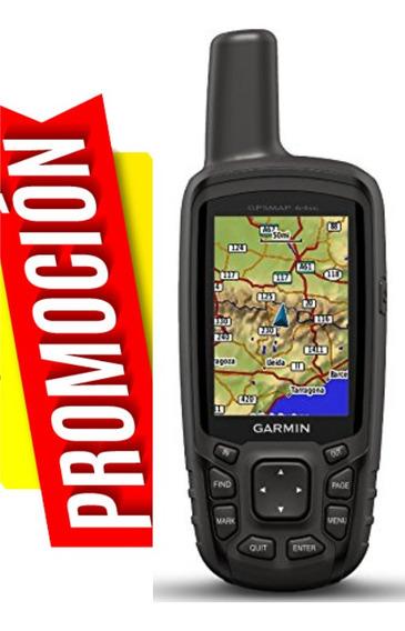Gps Garmin Gpsmap 64sc Camara Bluetooth Recargable + Mapas