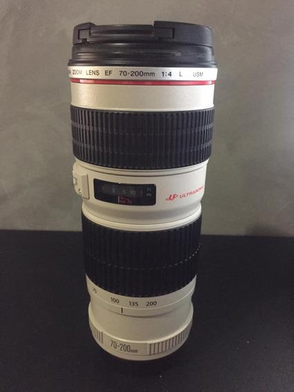 Lente Canon 70-200mm F/4 Ef