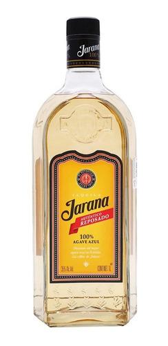 Imagen 1 de 1 de Botella De Tequila Jarana Autentico Reposado 1l