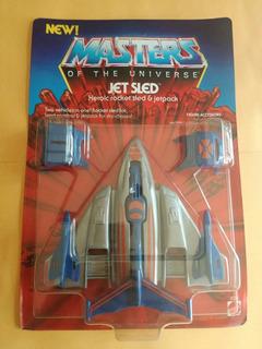 Master Of The Universe Jet Sled Motu Heman