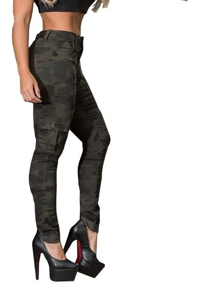 Calça Jeans Feminina Estilo Pitbull Lycra Bumbum Cam01