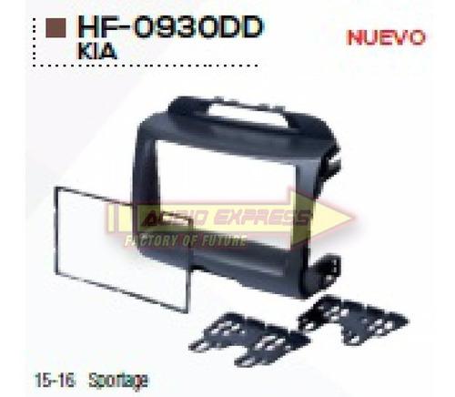 Base Frente Adaptador Estereo Kia Sportage 2015-16 Hf0930dd