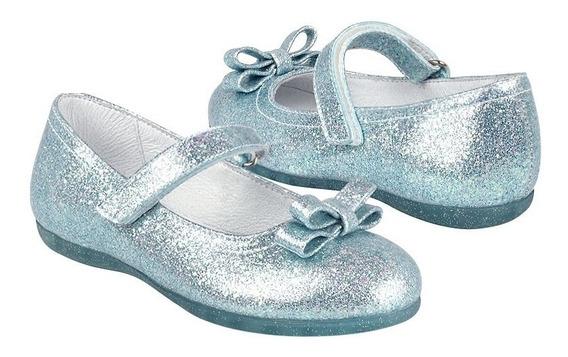 Zapatos Casuales Calzado Chabelo 49602 15-17 Glitter Azul
