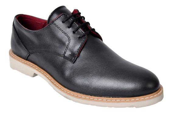 Zapato Hombre Cuero Vestir Campus 4052 Liviano Moda Oferta