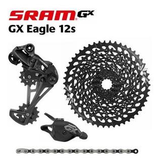 Grupo Sram Gx Eagle, 12v, Novo, Roldana Nova, Pronta Entrega