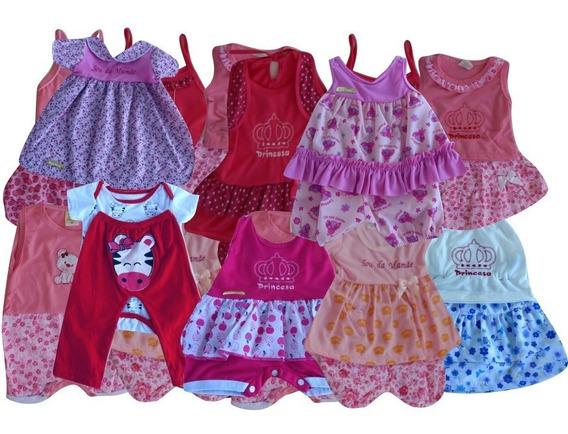 Coisas De Bebê Kit C/10 Roupinhas Recém Nascido + Brinde B10