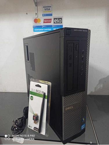 Desktop Dell Optiplex 3010-core I3 3240+8gb Ram+hd500gb+wifi
