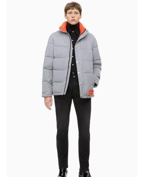 Chamarra Calvin Klein Reflective Puffer Nueva