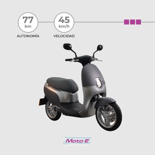 Moto Electrica Scooter Ecooter-emuv Moto E Patentable 2021